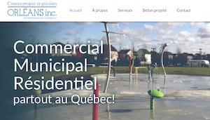 Ciment Projeté et Piscines Orléans inc. - Capitale-Nationale, Saint-Pierre-de-l'Île-d'Orléans