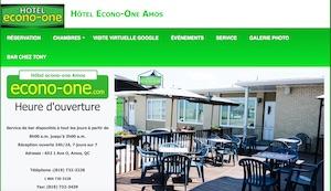 Hôtel Econo-One - Abitibi-Témiscamingue, Amos