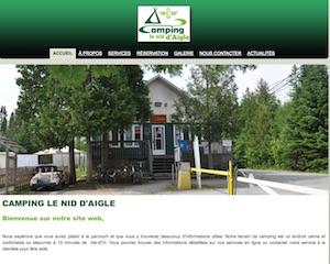 Camping le Nid d'Aigle - Abitibi-Témiscamingue, Val-d'Or
