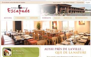 Auberge l'Escapade Inn - Mauricie, Shawinigan