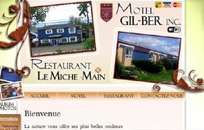 Motel Gil-Ber (Restaurant Bar Miche-Main) - Charlevoix, Saint-Hilarion