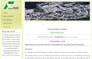 Municipalité de Saint-David-de-Falardeau - Saguenay-Lac-Saint-Jean, Saint-David-de-Falardeau (Saguenay)