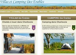 Camping des Érables