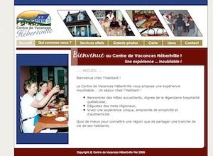 Centre de Vacance Hébertville - Saguenay-Lac-Saint-Jean, Hébertville (Lac-St-Jean)
