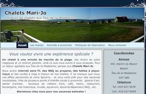 Chalet Marie-Jo - Îles-de-la-Madeleine, Havre-Aubert