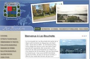 Municipalité Lac Bouchette - Saguenay-Lac-Saint-Jean, Lac-Bouchette (Lac-St-Jean)