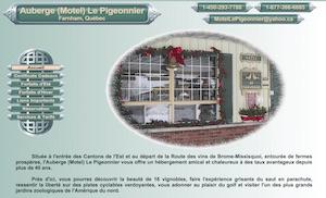 Auberge (motel) Le Pigeonnier - Montérégie, Farnham