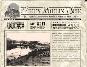 Motel Au Vieux Moulin à Scie - Lanaudière, Saint-Michel-des-Saints