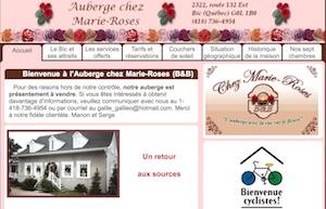 Auberge chez Marie-Roses - Bas-Saint-Laurent, Rimouski
