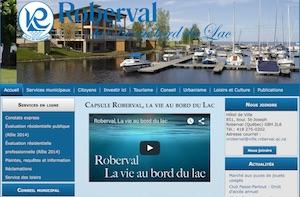 Ville de Roberval - Saguenay-Lac-Saint-Jean, Roberval (Lac-St-Jean)