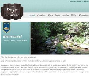 Aux Berges de l'Aurore - Estrie / Canton de l'est, Notre-Dame-des-Bois