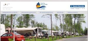 Camping Domaine de la Chute (Parkbridge) - Chaudière-Appalaches, Saint-Apollinaire (Lotbinière)