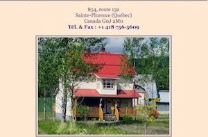 Gîte Au Bois Joli - Gaspésie, Sainte-Florence