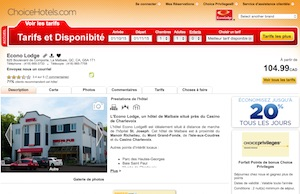 Éconolodge (Hôtel Plaza) - Charlevoix, La  Malbaie (Pointe-au-Pic)