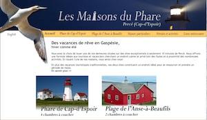 Les Maisons du Phare - Gaspésie, Percé