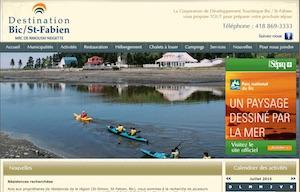 Corporation de développement touristique Bic/Saint-Fabien - Bas-Saint-Laurent, Saint-Fabien