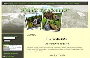 Moulin des Pionniers - Saguenay-Lac-Saint-Jean, La Doré (Lac-St-Jean)