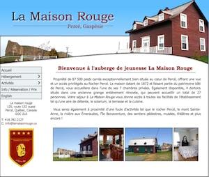Auberge de Jeunesse La Maison Rouge - Gaspésie, Percé
