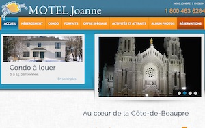 Motel Joanne - Capitale-Nationale, Sainte-Anne-de-Beaupré