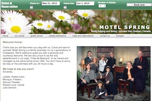 Motel Spring - Capitale-Nationale, Chateau-Richer