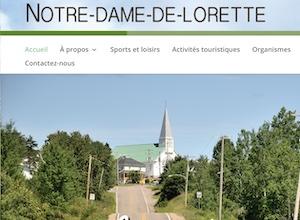 Municipalité de Notre-Dame-de-Lorette - Saguenay-Lac-Saint-Jean, Notre-Dame-de-Lorette (Lac-St-Jean)