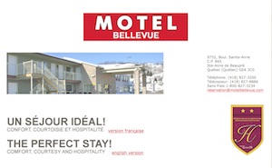 Motel Bellevue - Capitale-Nationale, Sainte-Anne-de-Beaupré
