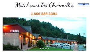 Motel sous les Charmilles - Capitale-Nationale, Cap-Santé