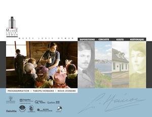 Musée Louis-Hémon - Saguenay-Lac-Saint-Jean, Péribonka (Lac-St-Jean)