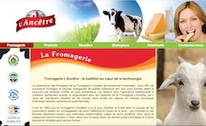 Fromagerie L'Ancêtre - -Centre-du-Québec-, Bécancour