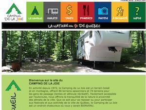 Camping de la Joie - Capitale-Nationale, Ville de Québec (V) (Charlesbourg)