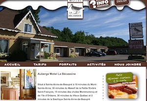 Auberge Motel La Bécassine - Capitale-Nationale, Sainte-Anne-de-Beaupré