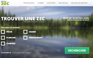 Fédération Québécoise des gestionnaires de ZEC - Capitale-Nationale, Ville de Québec (V)