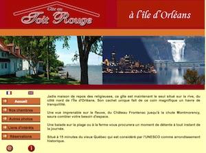 Gîte au Toit Rouge - Capitale-Nationale, (M) Sainte-Pétronille-de-l'Île-d'Orléans
