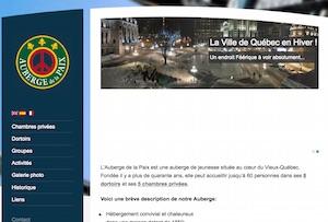 Auberge de la Paix - Capitale-Nationale, Ville de Québec (V)