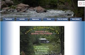Camping de la Rivière aux Pommes - Capitale-Nationale, Neuville