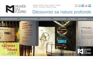 Musée du Fjord - Saguenay-Lac-Saint-Jean, Saguenay (Saguenay) (V) (La Baie)