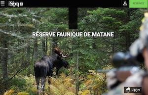 Camping Réserve Faunique Matane (Sépaq) - Gaspésie, Saint-René-de-Matane