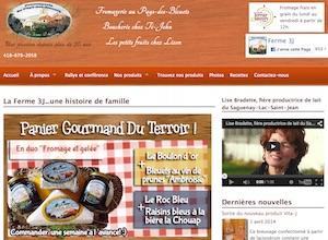 Fromagerie Au Pays des Bleuets - Saguenay-Lac-Saint-Jean, Saint-Félicien (Lac-St-Jean)