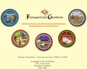 Fromagerie des Grondines - Capitale-Nationale, Deschambault-Grondines