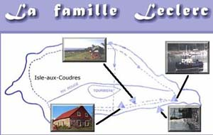 Motels Camping Leclerc - Charlevoix, L'Isle-aux-Coudres