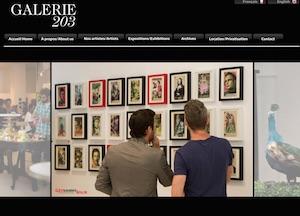 Galerie 203 - Montréal, Ville de Montréal