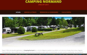 Camping Normand - Estrie / Canton de l'est, Eastman