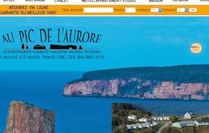 Au Pic de l'Aurore Village Chalets - Gaspésie, Percé