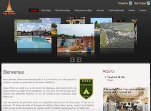 Camping Domaine du Lac Cristal - -Centre-du-Québec-, Saint-Rosaire