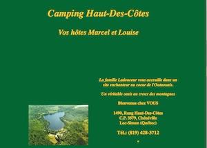 Camping Haut des Côtes - Outaouais, Lac-Simon