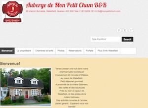 Gîte Auberge de Mon Petit Chum - Outaouais, La Pêche