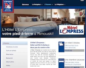 Hôtel L'Empress - Bas-Saint-Laurent, Rimouski