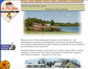 Chalet Au p'tit Gibier - Lanaudière, Saint-Michel-des-Saints