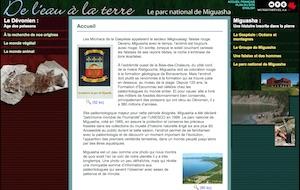 Miguasha - Gaspésie, Nouvelle