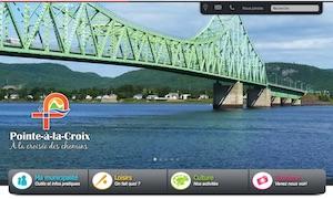 Municipalité de Pointe-à-la-Croix - Gaspésie, Pointe-à-la-Croix